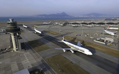 Transhipments drive a 2.8% rise in Hong Kong airfreight volumes during October